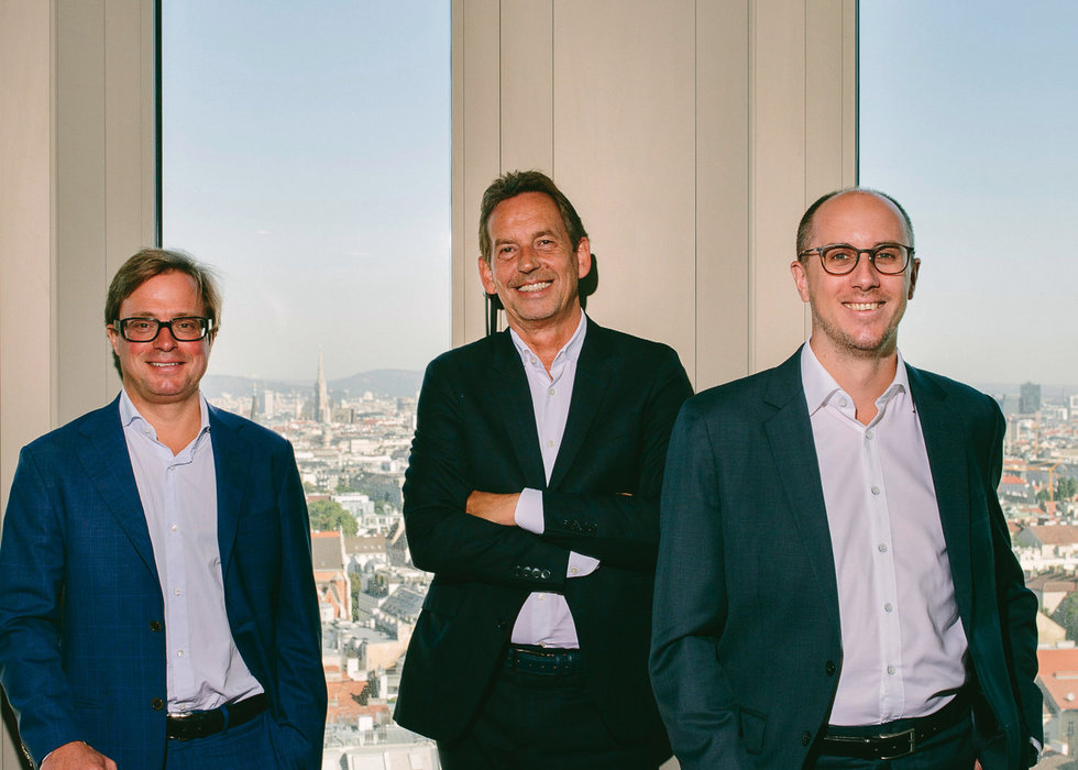 cyan digital security operates in a new headquarters, the ICON Vienna building